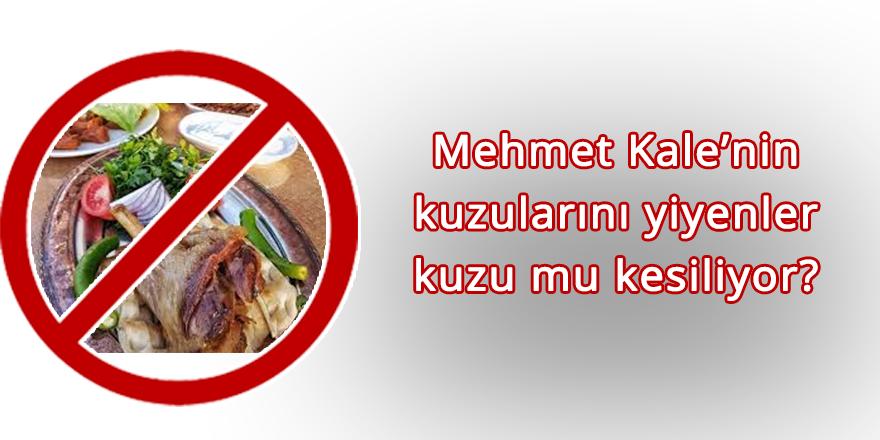 Mehmet Kale'nin kuzularını yiyenler kuzu mu kesiliyor!