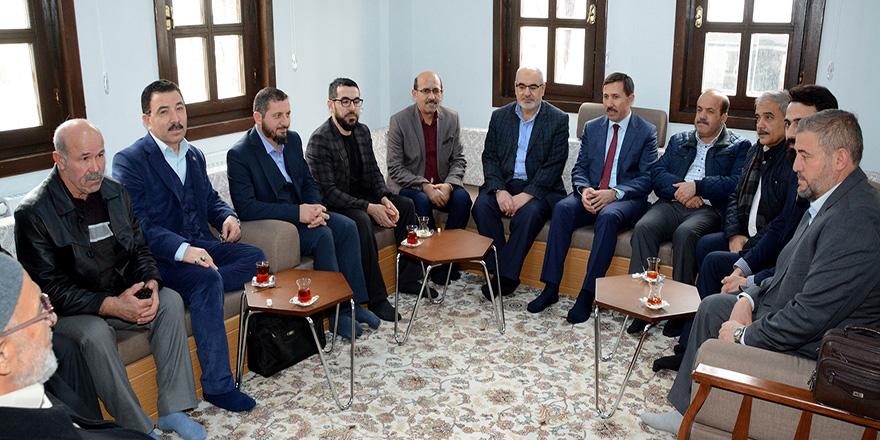 Hasan Kılca, STK Temsilcilerini ziyaret etti