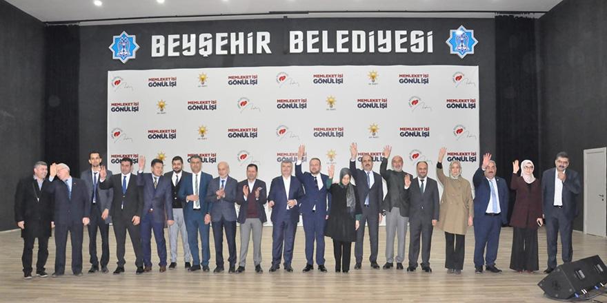 AK Parti Beyşehir adayını tanıttı