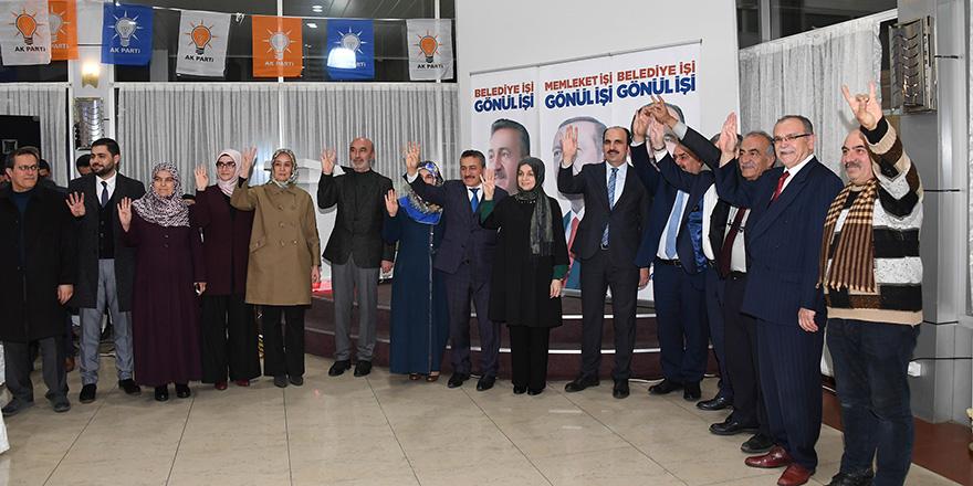 Seydişehir Belediye Başkanı Mehmet Tutal vefa programı düzenledi