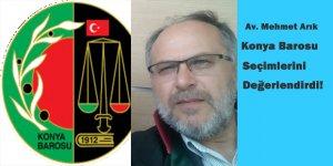 Konya Barosu Organ Seçimleri Üzerine!