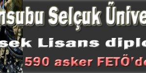5000 Asker Selçuk Üniversitesi'nde Tezsiz Yüksek Lisans yaptı!